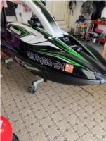 2018 Kawasaki SXR 1500 jet ski Lettering from Scott C, GA