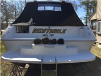 1995 40' sea ray boat Lettering from Robert P, MA