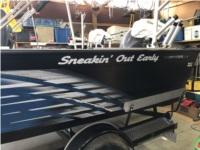 2019 starCraft 196 fisherman Boat Lettering from Robert R, MI