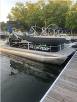 2019 Bennington pontoon Boat Lettering from Mary H, SC