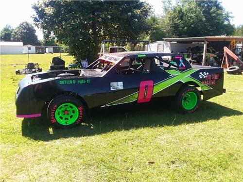 Purestock Racecar  Lettering from Melissa F, FL