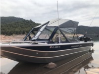 2019 Thunder Jet Boat Lettering from Marvin W, CO