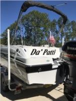 2019 hurricane deck boat Boat Lettering from Troy S, FL