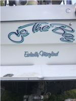 1994 Bayliner classic 2859  Boat  Lettering from Casey B, DE