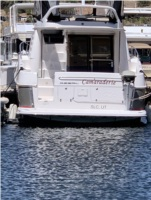 Regal boat model 4080 Lettering from David E, UT