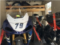 2001 Suzuki GSXR 750 Race motorcycle Lettering from Brian A, CA