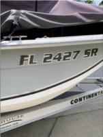 2011 Carolina Skiff JVX18 Boat Lettering from Steven J M, FL