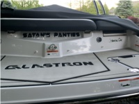 2019 Glastron GT225 Boat Name Lettering from Brady E, OH