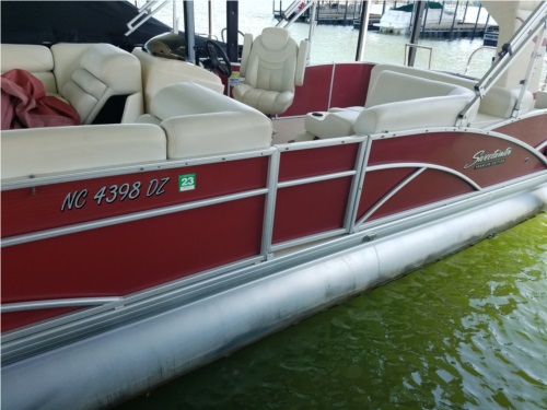 2014 Sweetwater 220 DL pontoon  from David S, NC