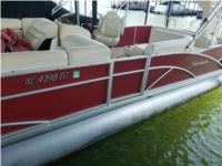 2014 Sweetwater 220 DL pontoon Boat Lettering from David S, NC