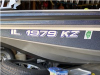 2019 Nitro bass boat Boat Lettering from Scott A B, IL