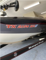 2005 Ranger 519VX Comanche Boat Lettering from Frederick F, TX