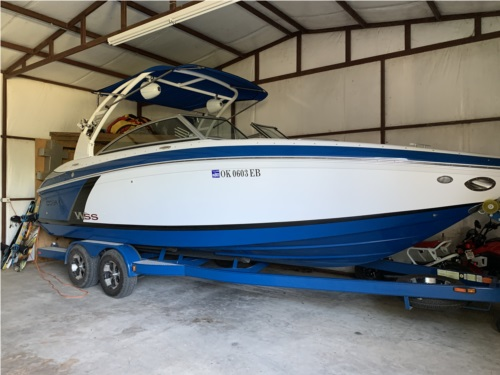 2012 Cobalt 242 WSS Boat Lettering from Cade T, OK