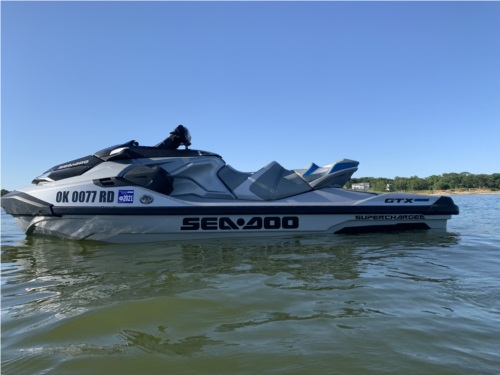 2020 Sea Doo GTX Limited 300 PWC Lettering from Marcus T, OK