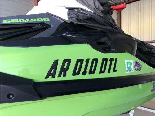 2020 Sea Doo RXT - X 300 Sea Doo Jet Ski Lettering from Norman R, AR