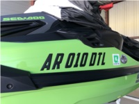 2020 Sea Doo RXT - X 300 Sea Doo Jet Ski Lettering from Norman R, AR