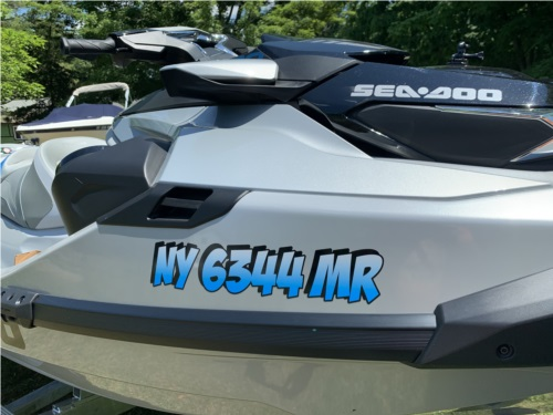2020 Sea Doo GTX 300 Limited  PWC Lettering from Glen A, NY
