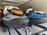2020 Sea Doo STI SE 130 and 170 PWCs Lettering from Gregory R, CA
