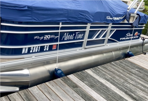 2020 Sun Tracker Party Barge Pontoon  from Mike R, NH