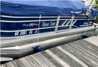2020 Sun Tracker Party Barge Pontoon Boat Lettering from Mike R, NH