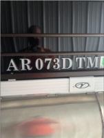 2020 veranda 22RL Pontoon boat  Lettering from Kody S, AR