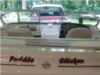 Glastron SX175 bowrider boat Lettering from Susan S, IN