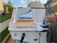 Robalo R222 Exployer Boat logo Lettering from Gary K, GA
