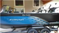 2019 StarCraft Fishmaster 21 ft boat Lettering from Joe  M, MI