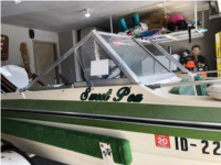 1975 Glastron tri hull Boat Lettering from Scott S, ID