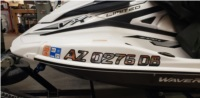 2020 Yamaha VX Limited Waverunners Yamaha  Lettering from JEFF G, NV