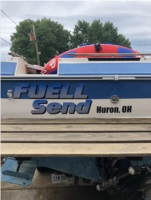 1988 Sea Ray 250 Cuddy Cabin Boat Lettering from Tommy W, OH