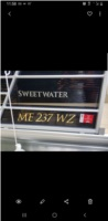 2020 Godfrey Sweetwater Pontoon Lettering from Melanie G, ME
