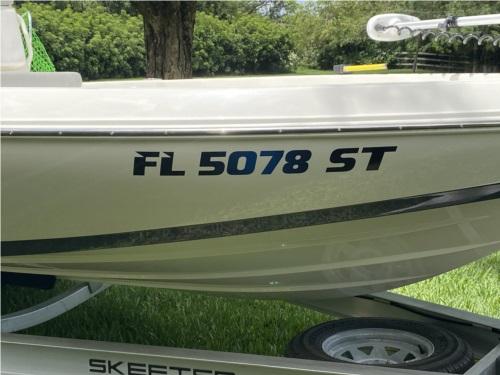 2020 Skeeter SX210 Boat Lettering from Matt G, FL