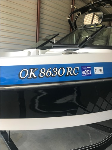 Nautique Boat Lettering from Jennifer T, OK