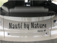 2021 Tahoe Boat/Pontoon Lettering from Brian H, MI