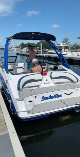 2020 Yamaha AR195 Boat Lettering from Austin P, FL