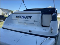 2004 Crownline 235 CCR Boat Lettering from Douglas D, IN