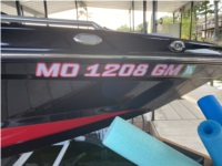 2020 Mastercraft XT22 Boat Lettering from Jared H, KS