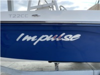 Bayliner Trophy T22CC  Boat Lettering from Jamie S, MD