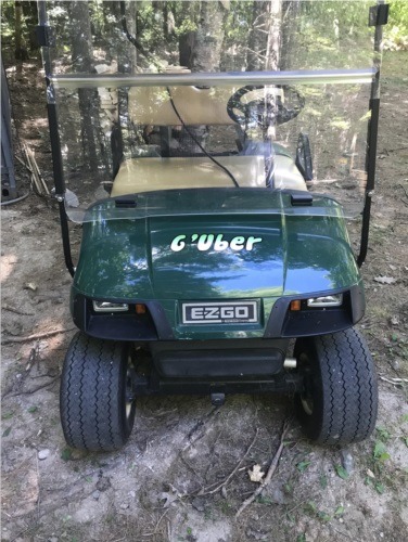 Golf cart Lettering from Thomas I, ME