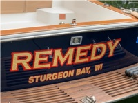 2004 Legacy 28' Boat Lettering from Donna W, WI