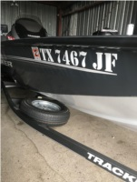 2021 Tracker Pro Team 175 TF Bass Boat Lettering from Thomas B, TX