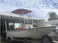 1995 Boston Whaler 15 Dauntless Lettering from Jason N, PR