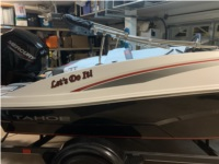 2021 Tahoe T16 Boat Lettering from Wesley C, NV