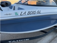 Tahoe 450 tf Boat Lettering from jared h, LA