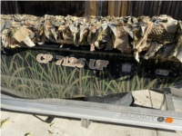 2020/Prodigy/Platinum Duck hunting, mud boat  Lettering from Corbin  W, CA
