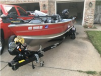 2013 Lund Fury 1600 Boat Lettering from Jeffrey S, OK