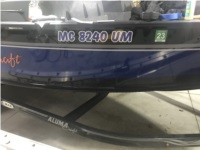 2018 Alumacraft Competitor 185 Boat Lettering from Keith K, MI