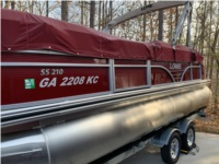 Lowe SS210CL Pontoon Lettering from Willard B, GA