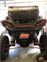 2019 rzr xp4 turbo Side by side Lettering from James P, CA